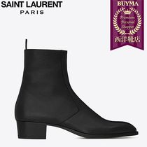 SAINT LAURENT 17SS┃SIGNATURE  ZIP BOOT