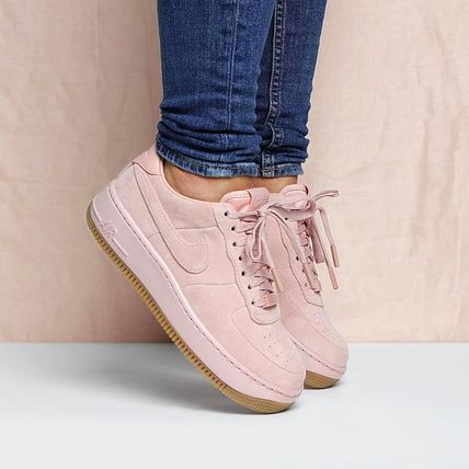 NIKE air force 1 up step LX pink