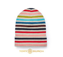 [TORY BURCH] CASHMERE 41155441 MULTI COLOR HAT ビーニー