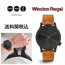 送料関税込・国内発送☆Komono☆Winston Regal Cognac 41mm