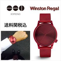 送料関税込・国内発送☆Komono☆Winston Regal All Red 41mm
