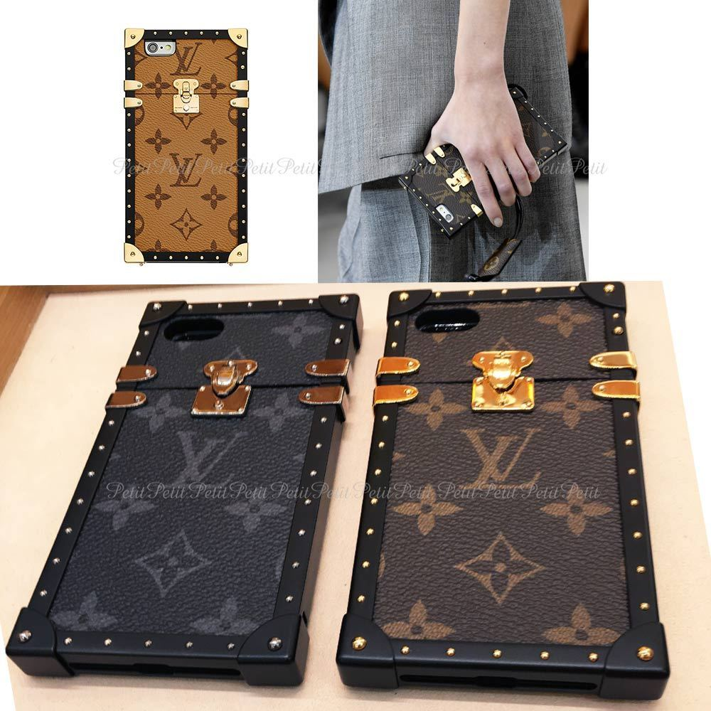 Louis Vuitton EYE TRUNK / Monogram iPhone case 7