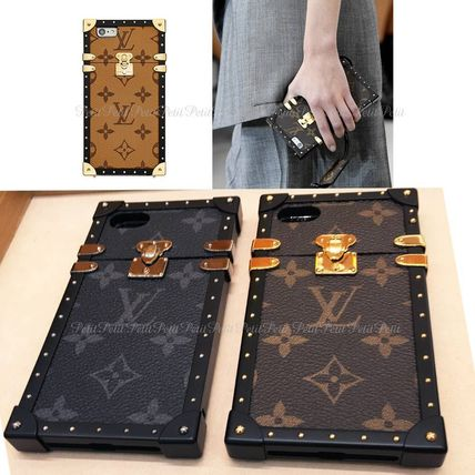 Louis Vuitton EYE TRUNK / Monogram iPhone7Plus case