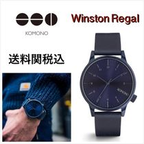 送料関税込・国内発送☆Komono☆Winston Regal All Blue 41mm
