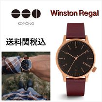 送料関税込・国内発送☆Komono☆Winston Regal Burgundy 41mm
