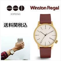 送料関税込・国内発送☆Komono☆Winston Regal Chestnut 41mm