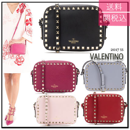 17th SS Valentino rock studded cross-body bag