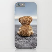 Society6◆スマホケース◆Teddy Blue by Marko Mastosaari