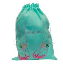 Angels by the Sea Hawaii(エンジェルズバイザシーハワイ) ハンドバッグ Slippers Embroidered Travel Sack★間税込★国内発送