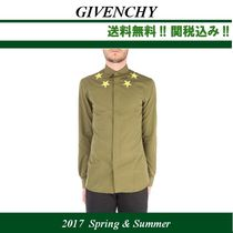 2017SS関税込,GIVENCHY(ジバンシィ)army green cotton shirt