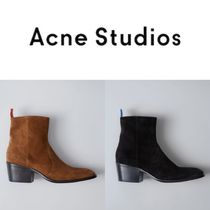Acne Studios/17SS アンクル丈 スエードブーツ Jesse Suede