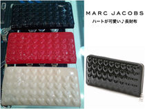 【Marc Jacobs】Heart Embossed ハートが可愛い♪長財布 3カラー