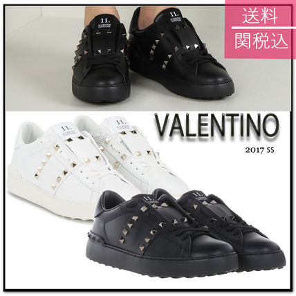 17th SS Valentino rock studded Untitled sneakers
