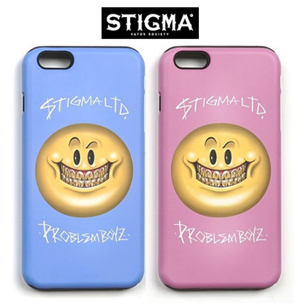 STIGMA iPhone・スマホケース STIGMA◆SMILE◆iphone6/6s/6+◆送料込