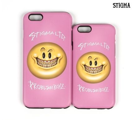STIGMA iPhone・スマホケース STIGMA◆SMILE◆iphone6/6s/6+◆送料込(13)