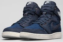 NIKE AIR JORDAN 1 RETRO KO HIGH OG (Obsidian/White)