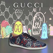 GUCCI Gucci Ghost Peint Low-Top Sneaker