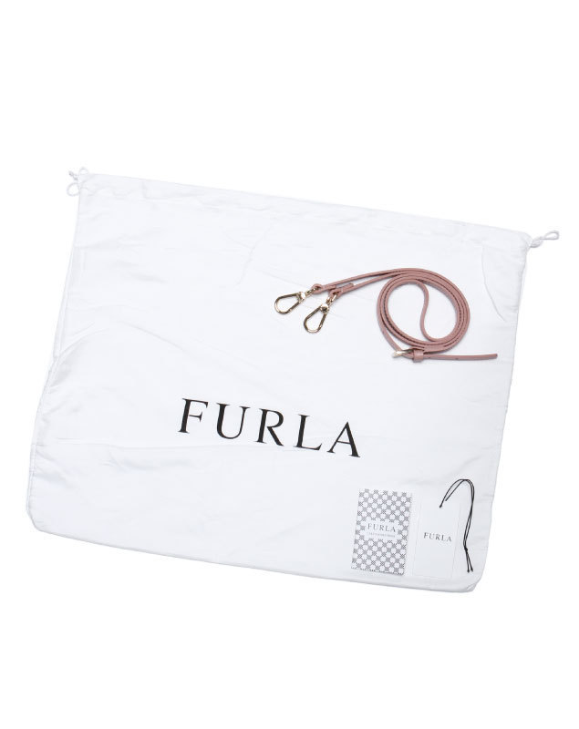 FURLA ハンドバッグ スモール ピンク PIPER S DOME 2WAY