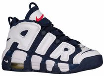 NIKE AIR MORE UPTEMPO (Navy/Metallic Gold/University Red)