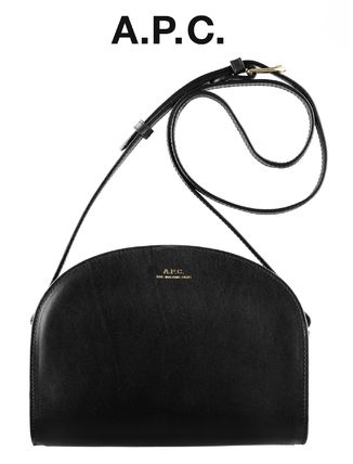France issued A. P. C. Japan sold out half moon bag black