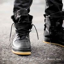 Nike Special Field SF Air Force 1 Black Gum ブラック