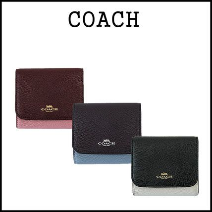 3-5 days at COACH spring color mini bifold wallet F57825