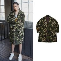 ◆MDMS By MADMARS◆ FAUX FUR CAMO COAT