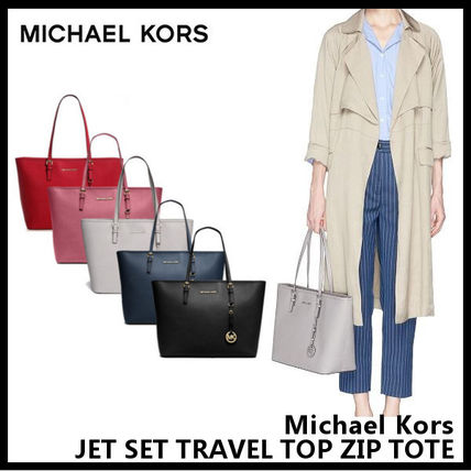 【Michael Kors】JET SET TRAVEL TOP ZIP TOTE 30S4GTVT2L
