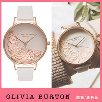 送税込【Olivia Burton】Moulded Floral Bouquet Blush♪国発