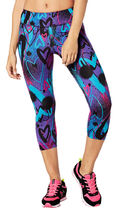 新作♪ZUMBAズンバ Zumba Love Perfect Capri Leggings-S-Pink