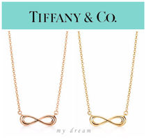 【Tiffany & Co】Tiffany Infinity pendant (gold , rose gold)