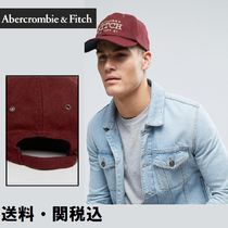 Abercrombie & Fitch ロゴ入り ベースボール キャップ