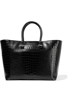 VICTORIA BECKHAM★Liberty croc-effect leather tote