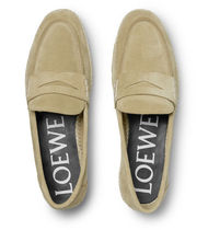 Suede Espadrille Penny Loafers スエードペニーローファー