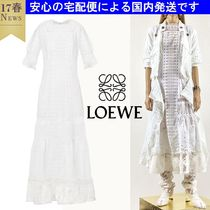 関税支払い済み Long Dress Broderie Anglaise  LOEWE(ロエベ)