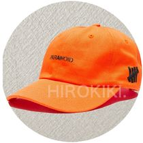 Anti Social Social Club × UNDEFEATED WEIRD CAP オレンジ