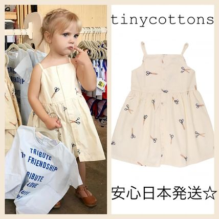 2017SS☆安心日本発送☆tinycottons scissors dress 3m-10Y