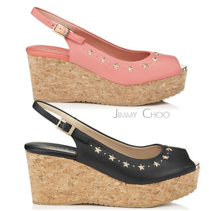17th ss Jimmy Choo PRAISE wedge sandals