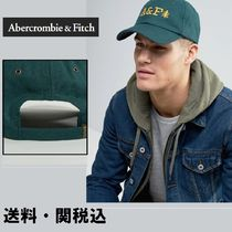 Abercrombie & Fitch ロゴ  Baseball キャップ グリーン