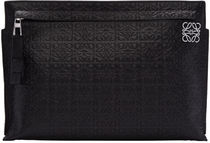 Black Anagram Pouch ポーチ クラッチバッグ
