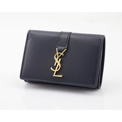 Saint Laurent key case 438963 BJ50J4147 color:MARINE-Navy