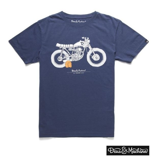 DEUS EX MACHINA ★The Shank Tシャツ ☆ Navy