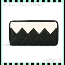 関税.送料込!!★Stella McCartney★Quilted Top Zip Wallet