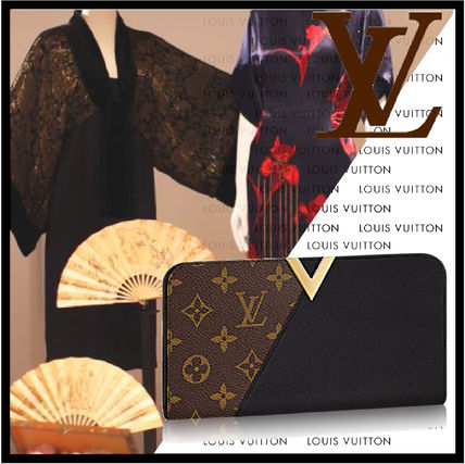 Louis Vuitton Louis Louis Vuitton wallet kimono long wallet