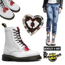 ♡新作♡ Dr. Martens Bentley II Heart ブーツ 8 eye