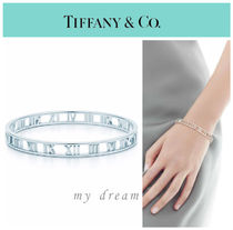 【Tiffany & Co】ATLAS narrow bangle in sterling silver