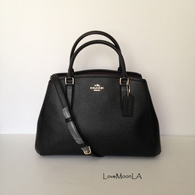 【COACH】人気☆SMALL MARGOT CARRYALL 2way F57527☆Black☆
