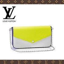 2017SS☆LOUIS VUITTON☆ポシェット・フェリーチェ エピ Yellow