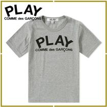 COMME des GARCONS(コムデギャルソン) キッズ用トップス プレイロゴ★COMME des GARCONS PLAY★キッズ半袖Tシャツ