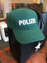 "【VETEMENTS】国内発★関税込 17SS新作 キャップ ""POLIZEI"" (緑)"